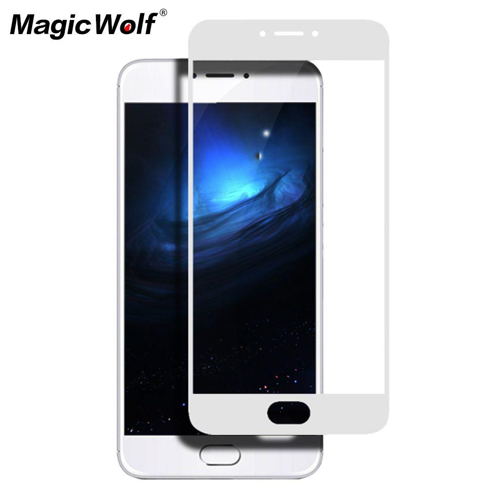 Click To Buy Tempered Glass For Xiaomi Mi5 Mi5s Plus Redmi Note4 Full Screen Cover White