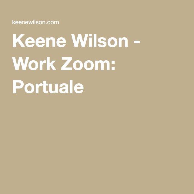 Keene Wilson - Work Zoom: Portuale
