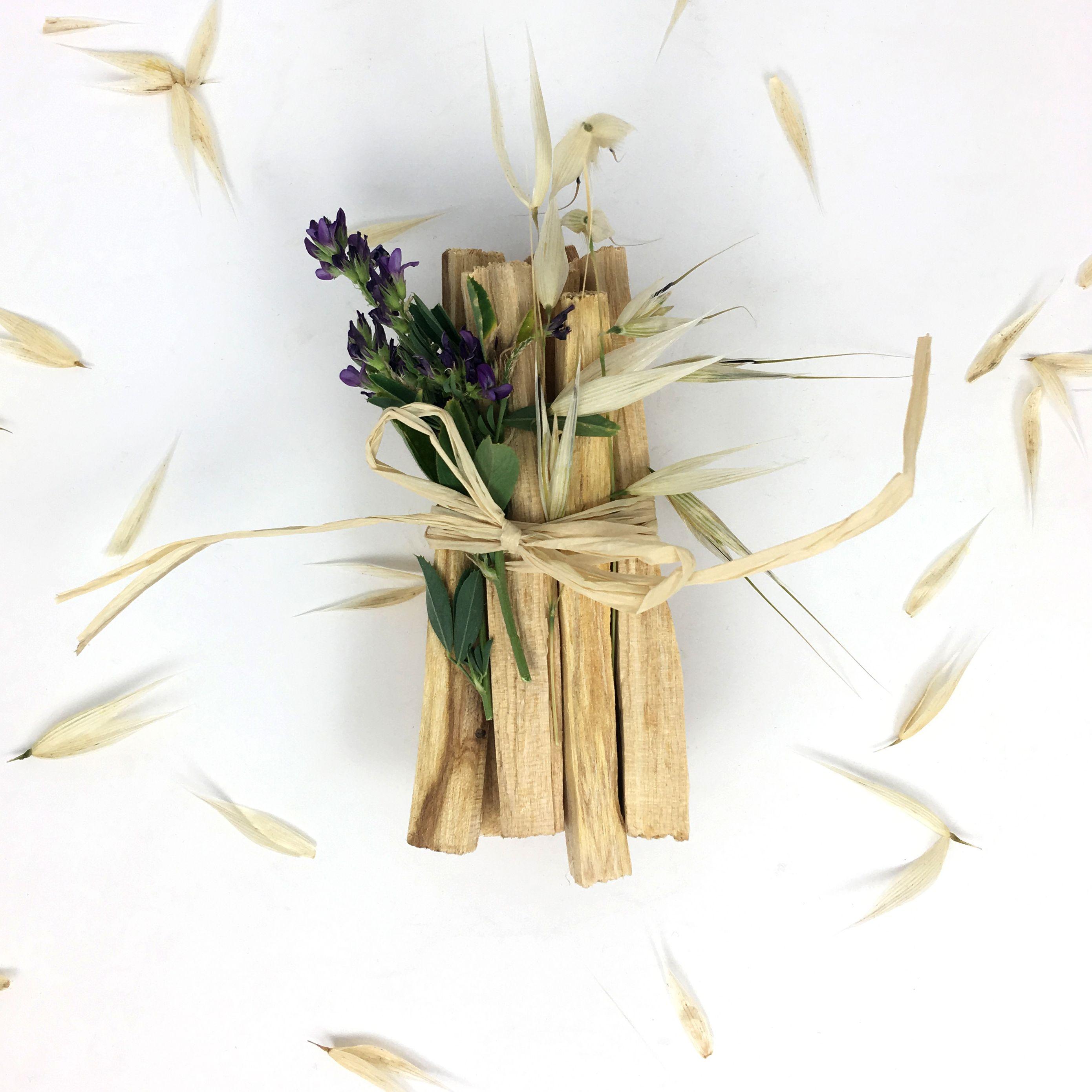 Incense sticks palo santo natural holy wood from peru