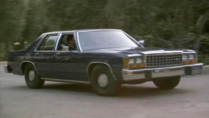 1983 Ltd Crown Vic From The 1987 Movie Dragnet Love It Old