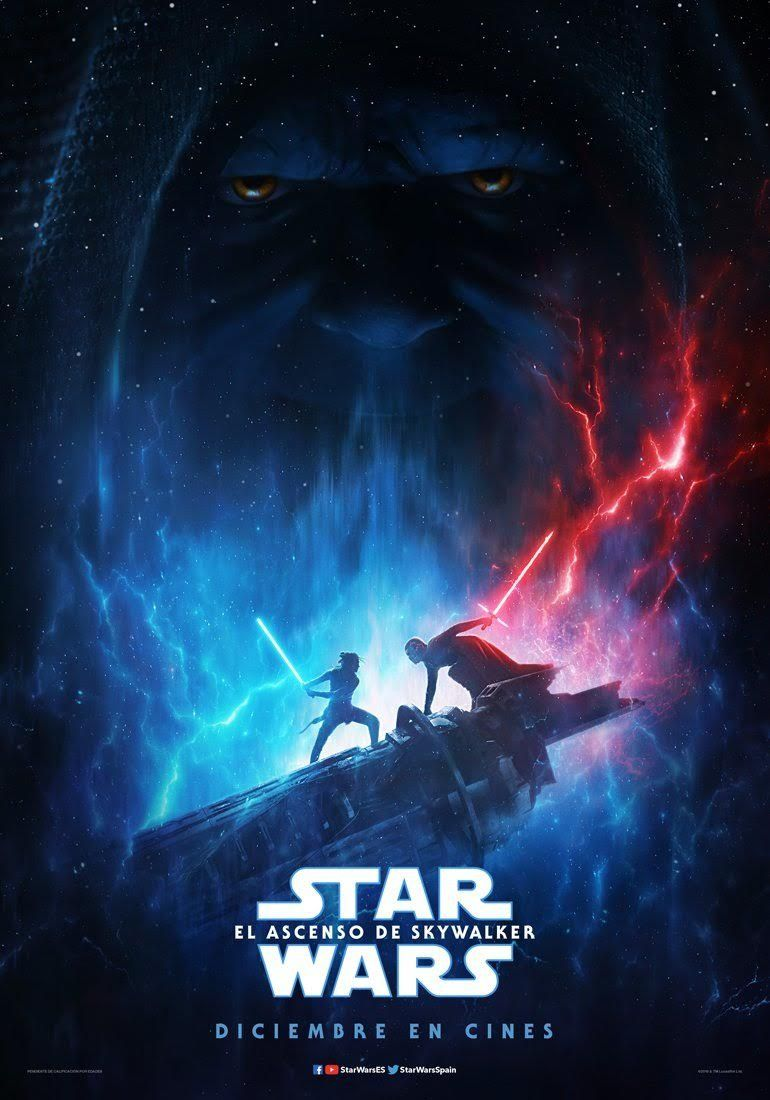 Star Wars Episodio Ix El Ascenso De Skywalker Ver Star Wars Poster De Peliculas Peliculas De Disney