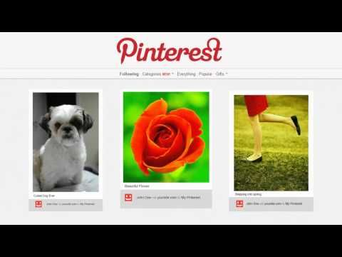 Pinterest Blog Theme http://informationsite.us/Pinterest/