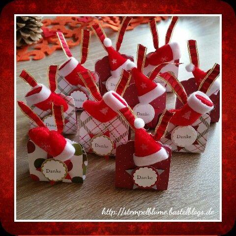 kleine goodies mit moncheri stampinup dankesch n weihnachten mitbringsel basteln
