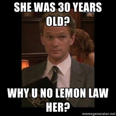 lemon law HIMYM HIMYM Pinterest Lemon law and Himym - barney stinson resume