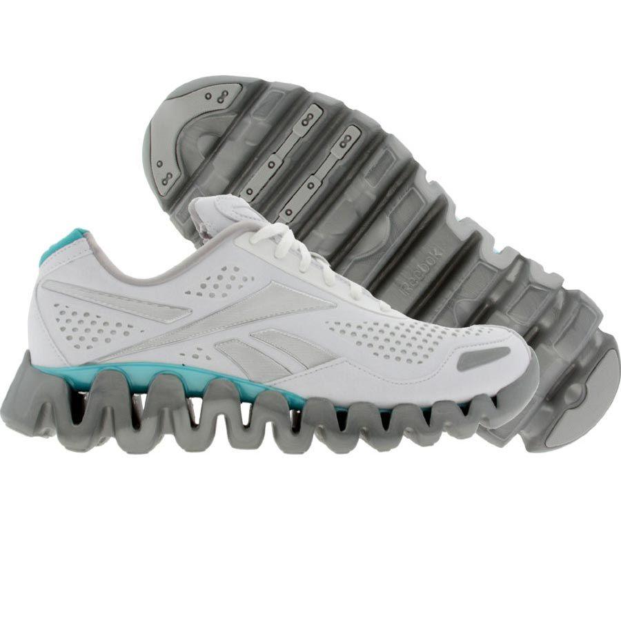 best sneakers 96434 61c13 ... wholesale reebok womens zigtech zigflow white glacier blue silver 1  v50677 99.99 bb873 10f2b