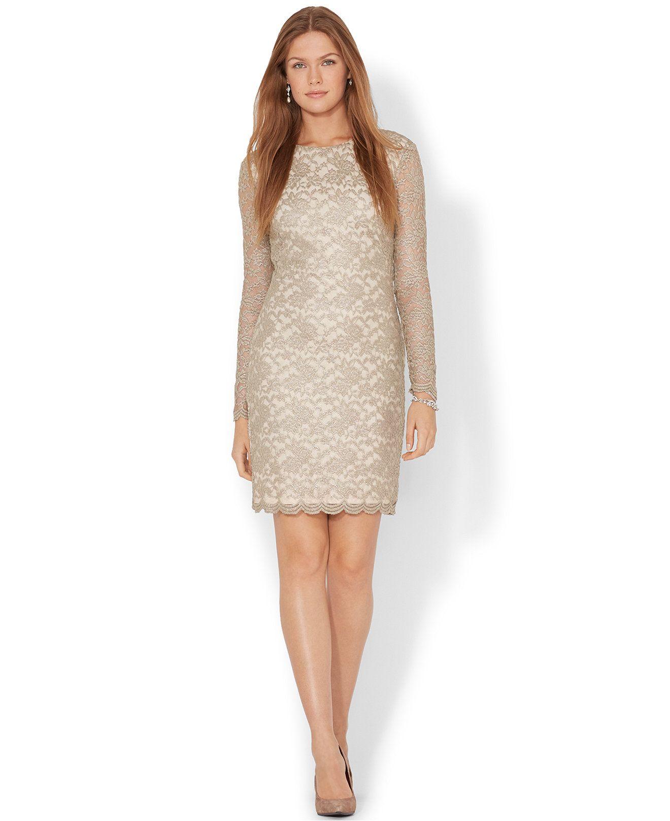 Macys Lace Dress Womens Carley Connellan