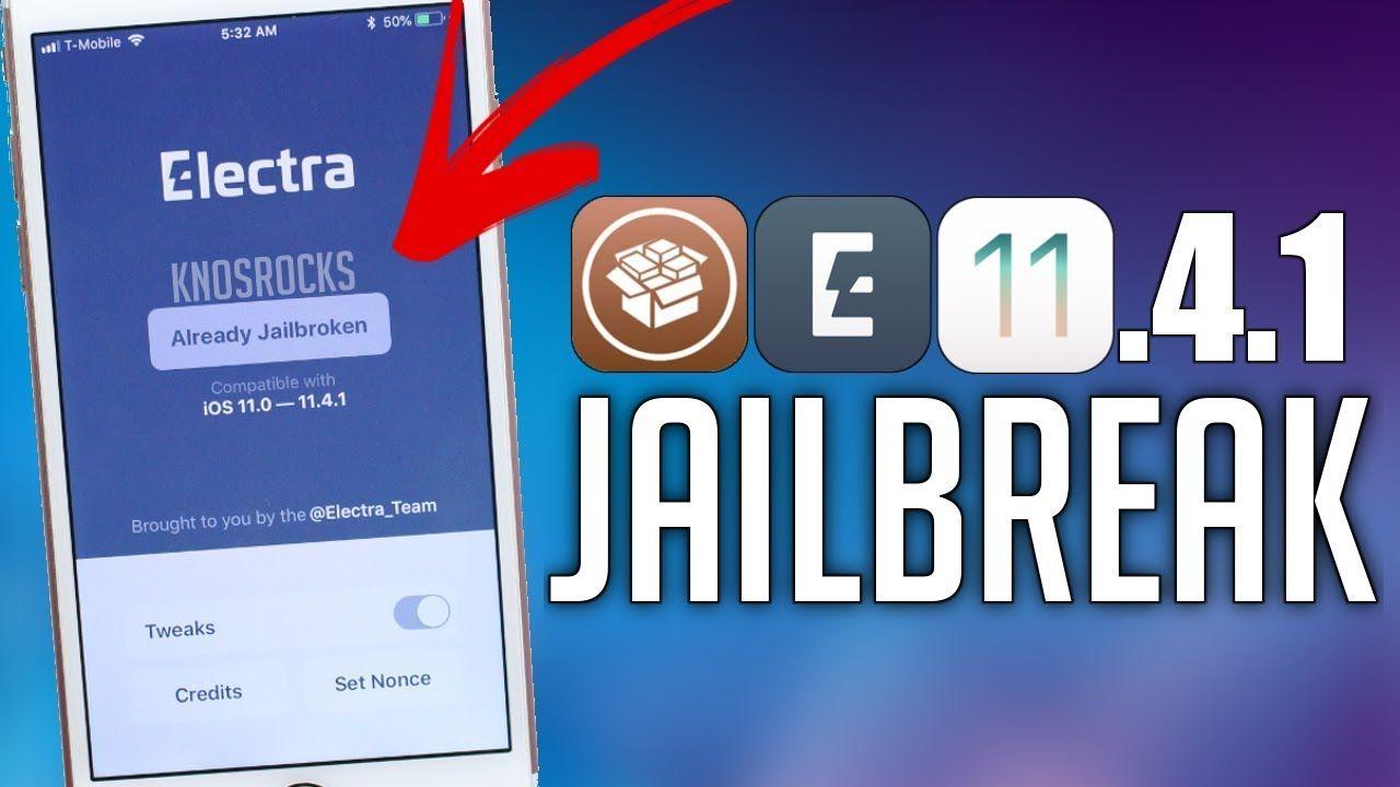 NEW!! How To Jailbreak iOS 11 4 1 & 11 4 + Install Cydia