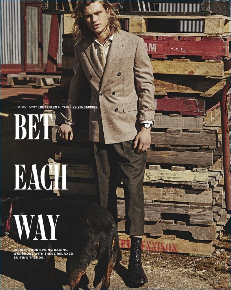 5c7dd0976f9e Bet Each Way  Charlie Kennedy for GQ Australia