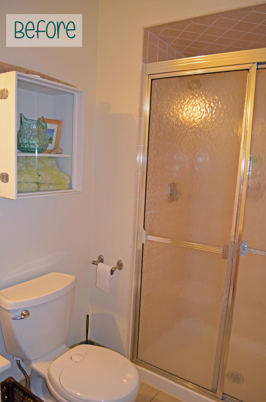 Guest Bathroom 1 Bye Bye Shower Doors Bathroom Shower Doors