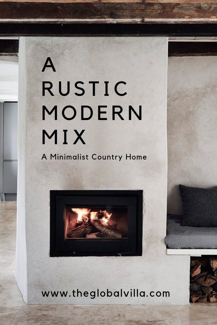 A Rustic Modern Mix in Sweden