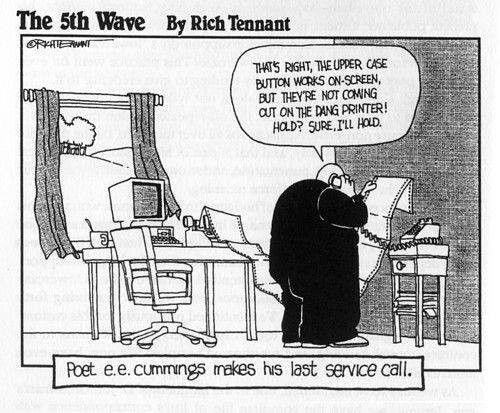 E E Cummings Joke Writing Humor Funny Picture Quotes English Major Humor