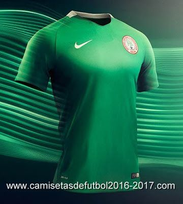 Nigeria Football Federation (NFF) Has Unveil The New Super Eagles Jersey  Against Algeria Match in Uyo.