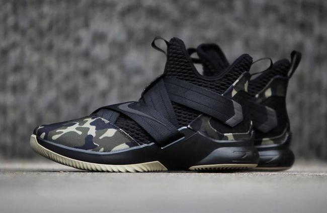 Nike LeBron Soldier 12 SFG Camo Black