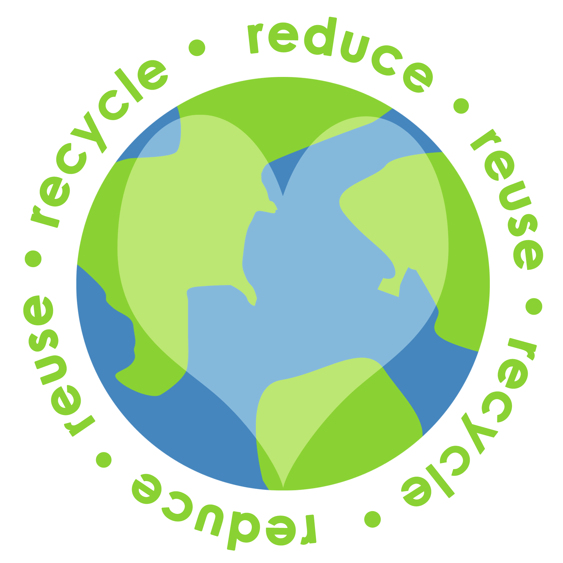Reduce Reuse Recycle Liveconsciously Earth Force