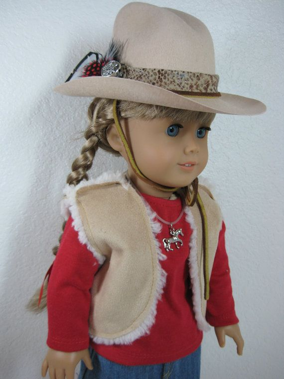 18 inch Doll Clothes American Girl Cowgirl Outfit by nayasdesigns, $45.00