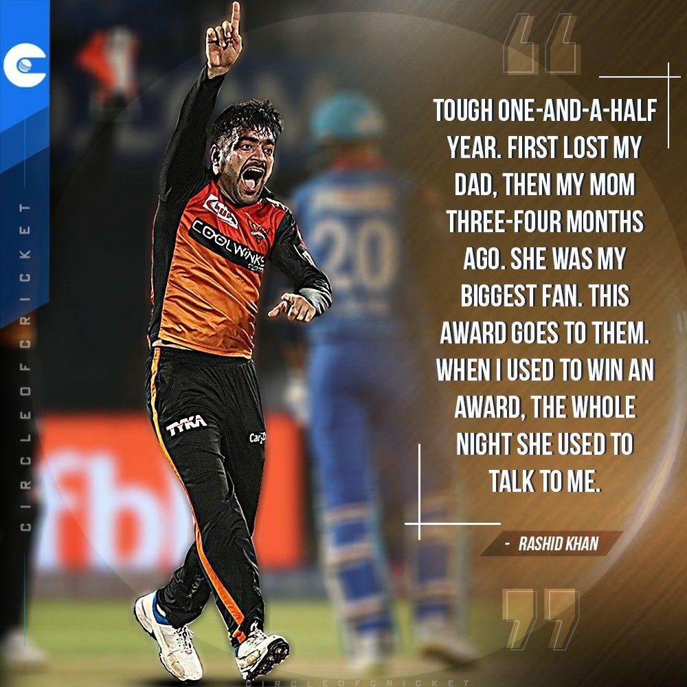 Rashid Khan Ipl 2020 Ipl Cricket Quotes Khan