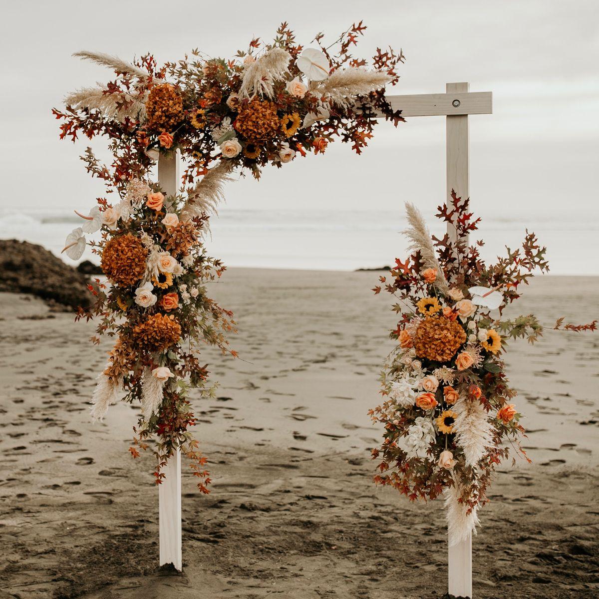 Autumn Wedding Arch | WILD BLOOMS
