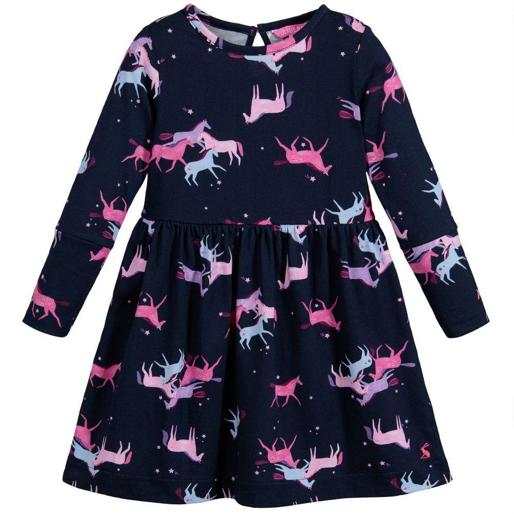 Joules Young Alina Cottton Dress Childrensalon дети