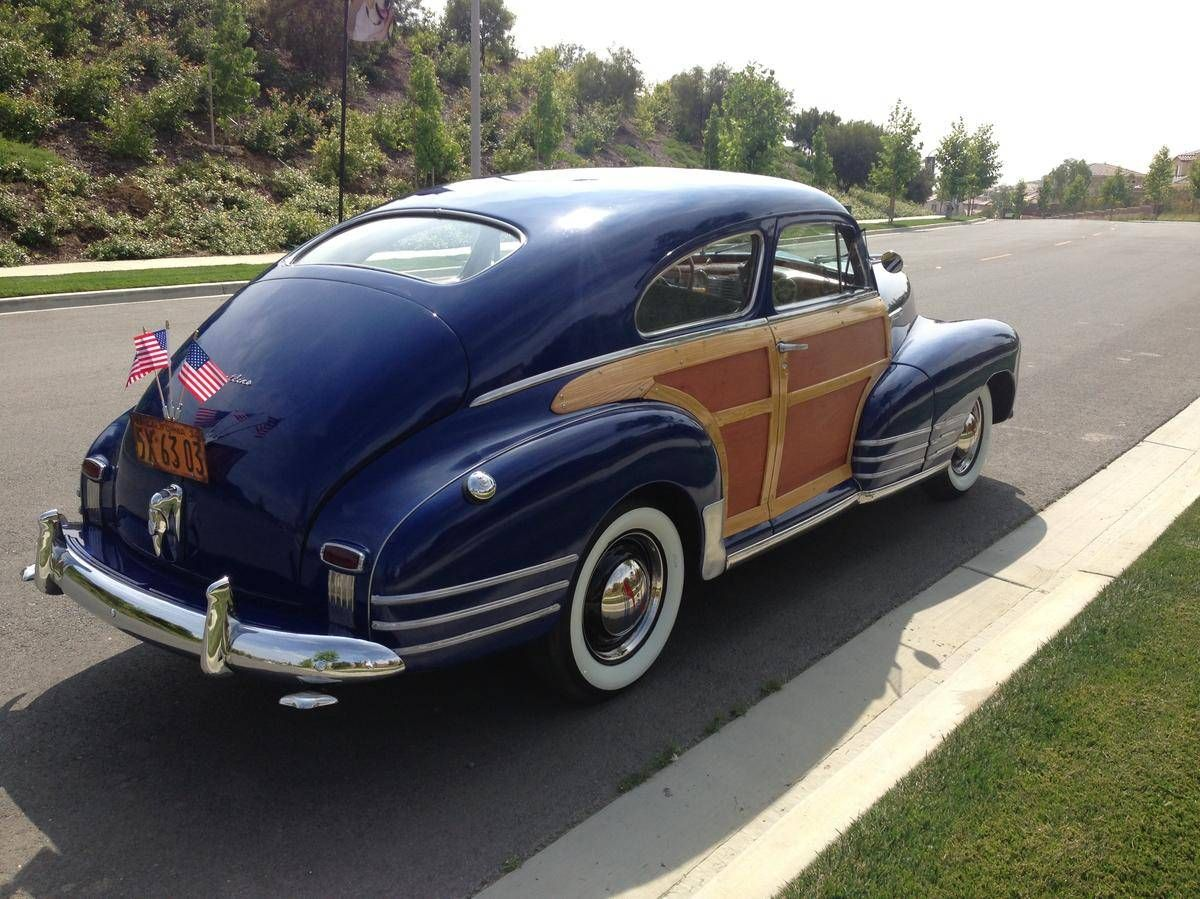 1948 Chevrolet Fleetline Country Club Woody Aerosedan Hemmings