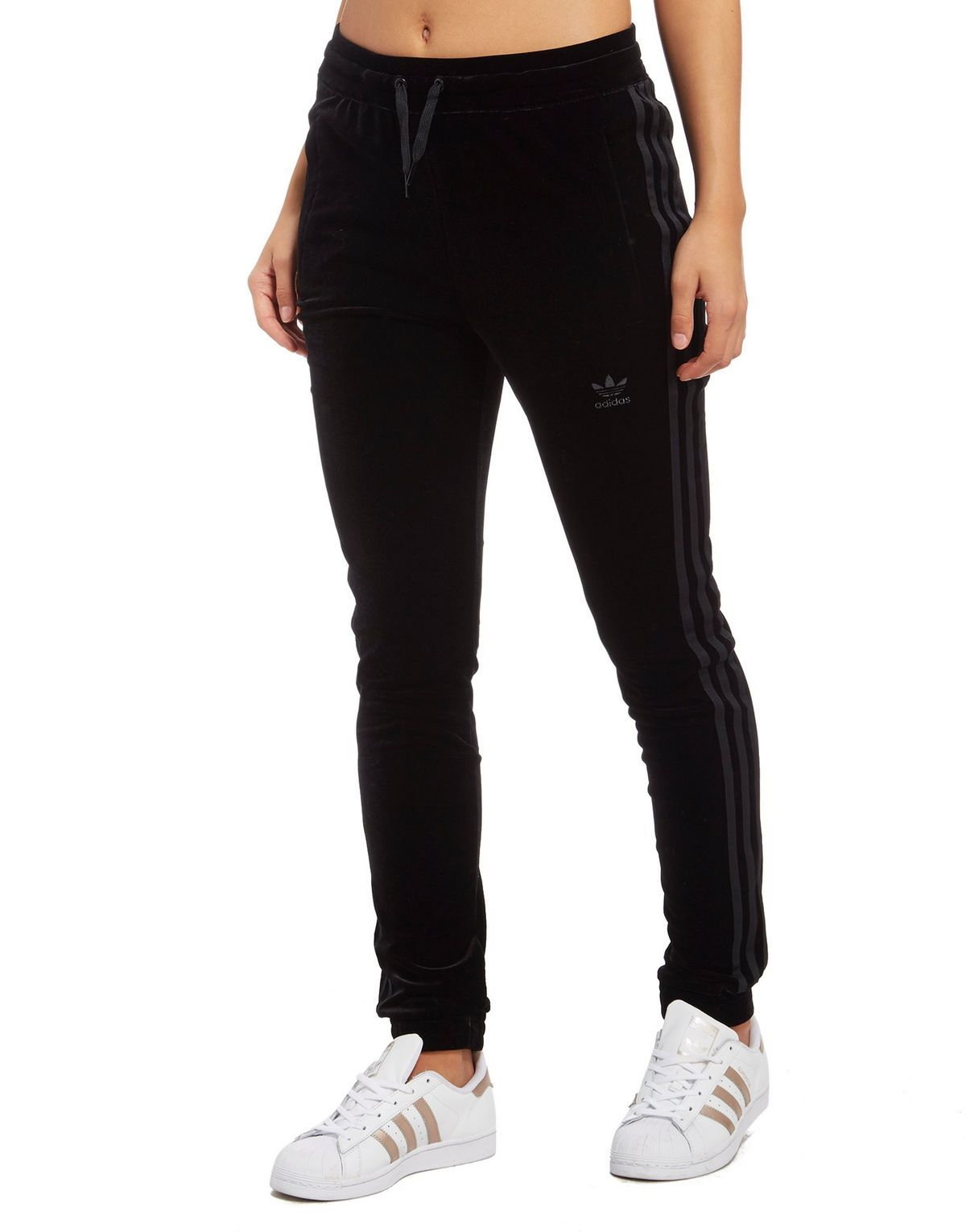 sports shoes 6d005 57fe4 adidas Originals Velvet Vibes SST Track Pants