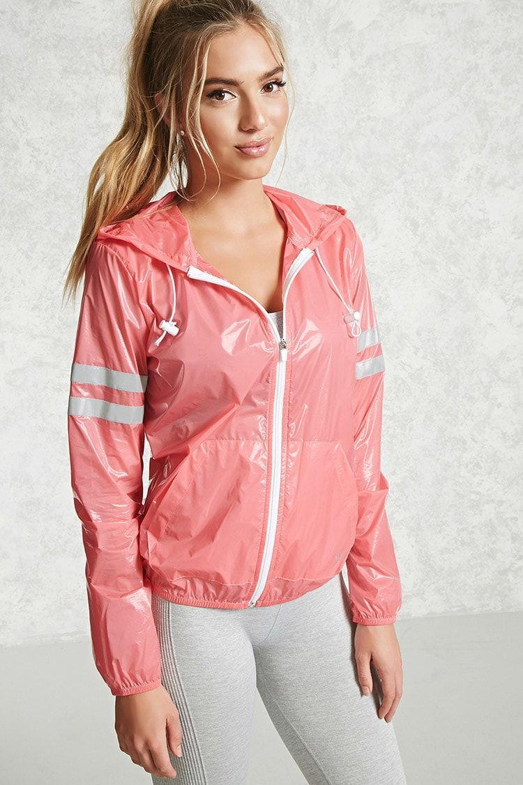Active Reflective Nylon Jacket - Women - 2000089047 - Forever 21 EU English #RaincoatsForWomenFit