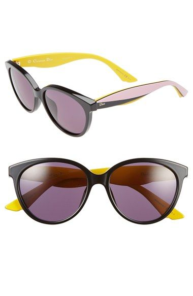 72912203edf Dior  Envol 3  55mm Cat Eye Sunglasses available at  Nordstrom ...