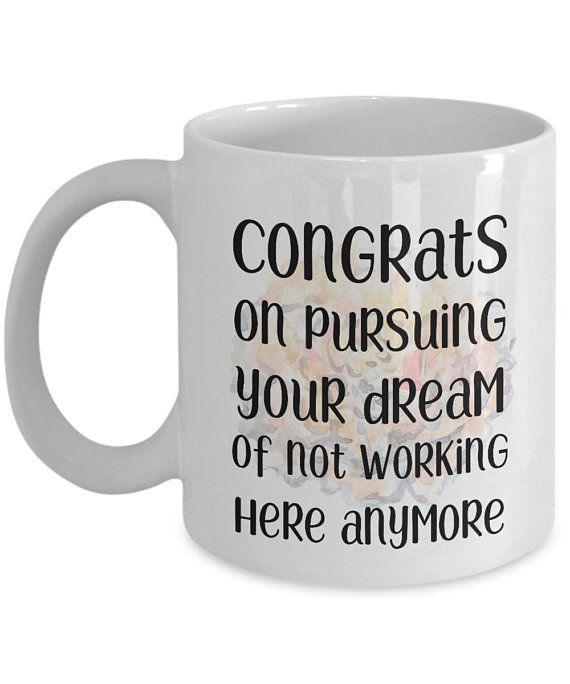 191cf780bd5 Funny Colleague coworker mugs gifts Congrats best coffee tea cup friend  Goodbye Leaving Farewell Goi