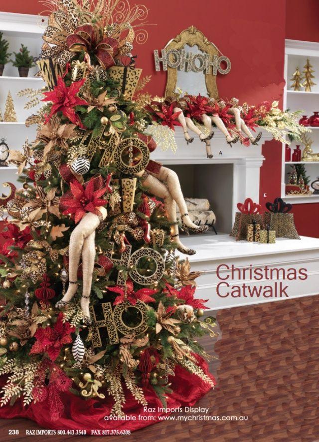 Pin de ideas bonitas y detalles en arboles de navidad - Decoracion navidad moderna ...