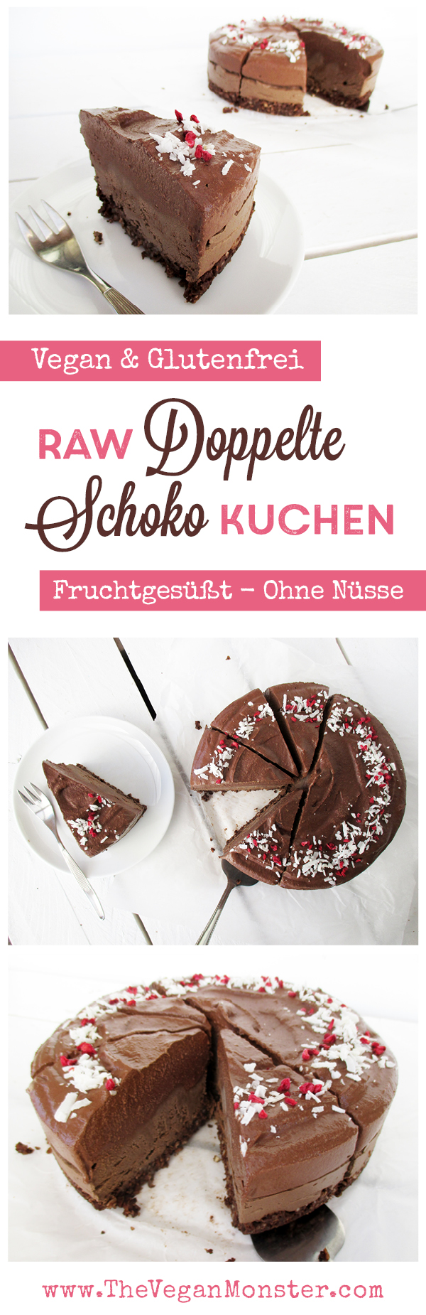 Doppelter Schoko Kuchen Vegan Glutenfrei Ohne Nusse Ohne