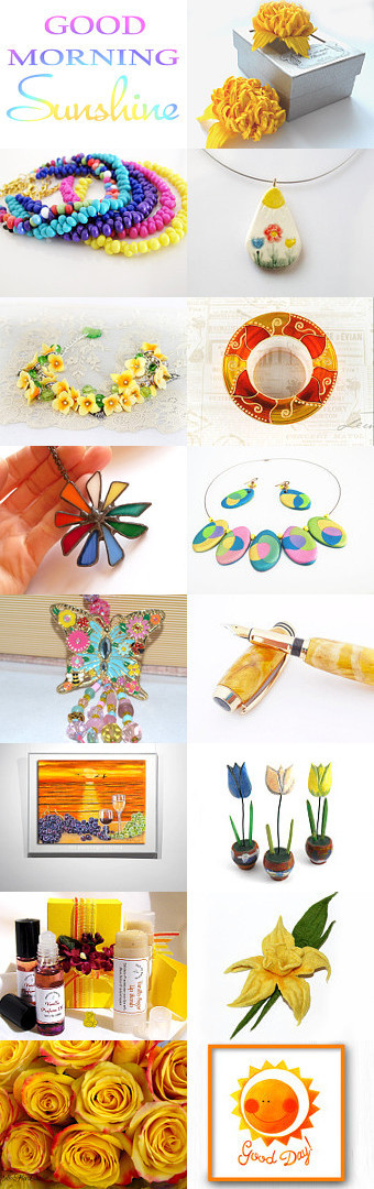 Have a Bright Sunny Day! by Allison and Sheryl on Etsy