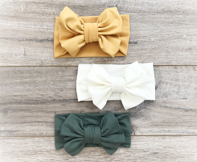 baby headband starter set Baby Headband Set nude bow set nude baby headband  Set glitter bow toddler headband newborn headbands