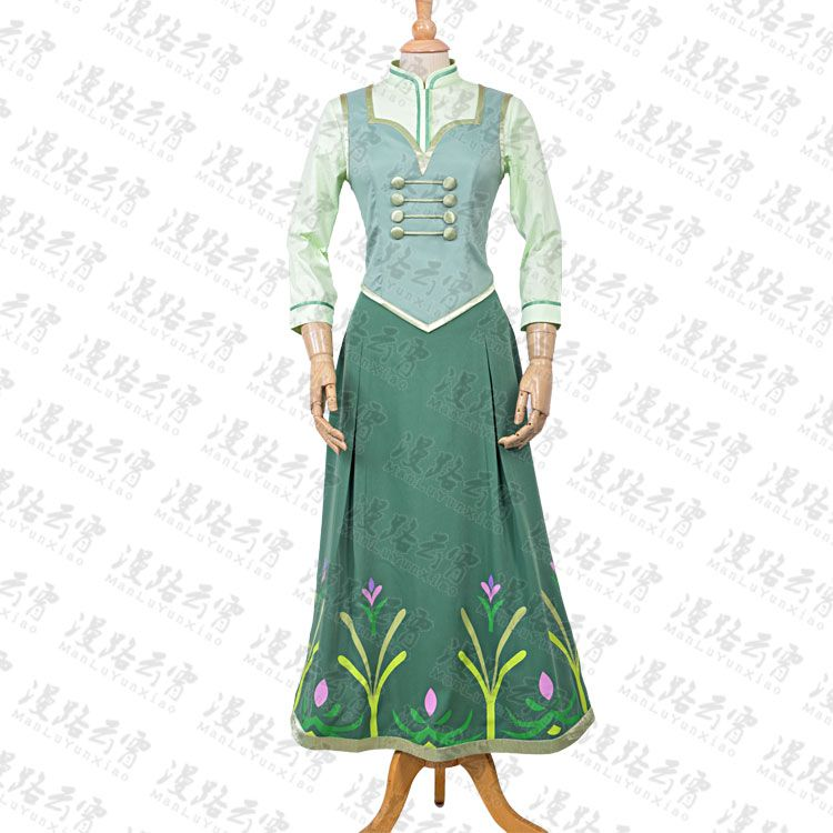 >> Click to Buy << Ice Snow Princess Anna Cosplay Costume Halloween Party Dress Shirt+Vest+Skirt #Affiliate