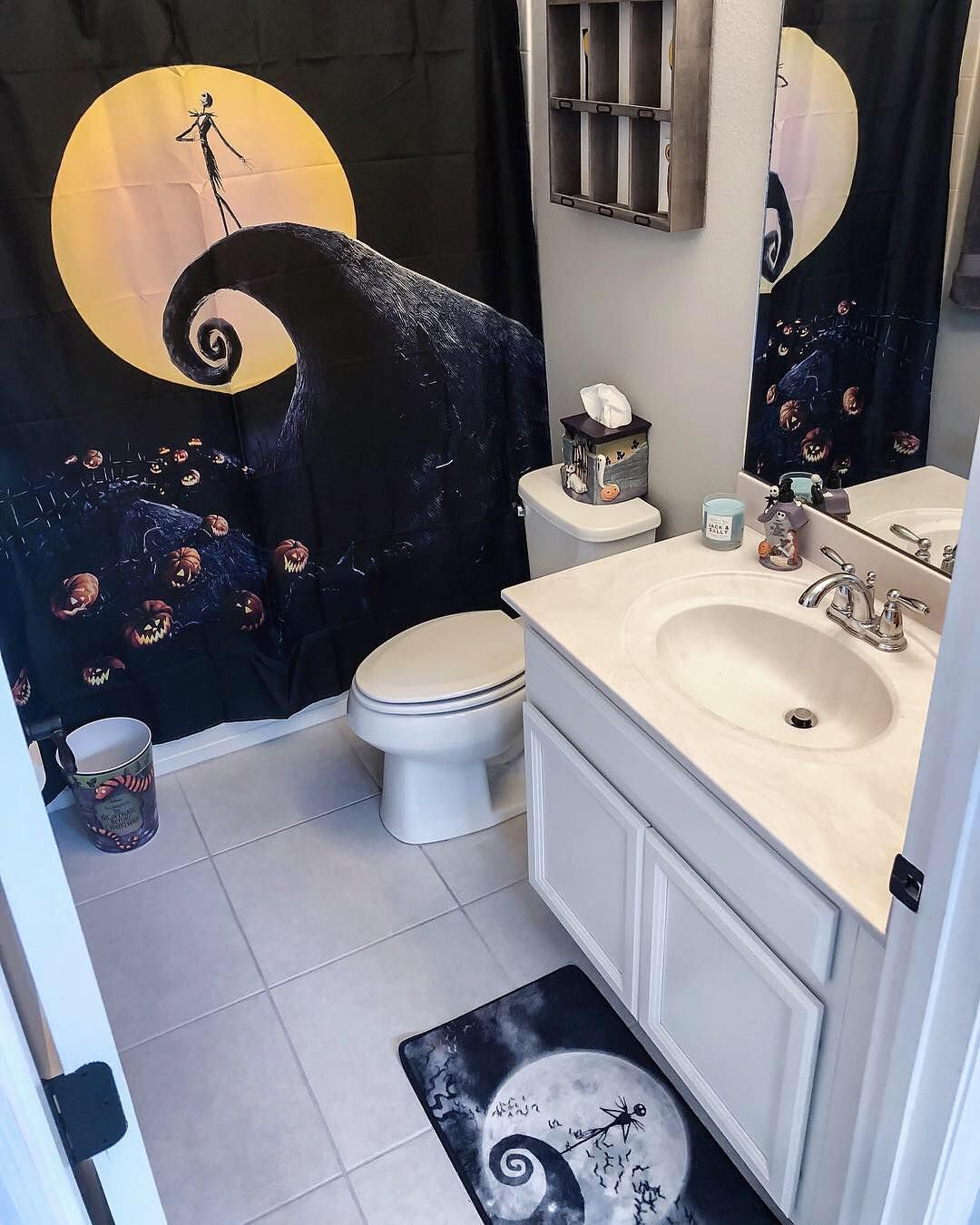 nightmare before christmas bathroom accessories