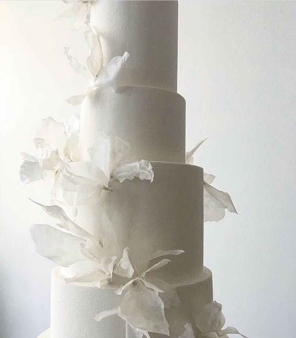 9 Simple Wedding Cakes With Just One Layer: π • #AleksaKarina #SimpleMath