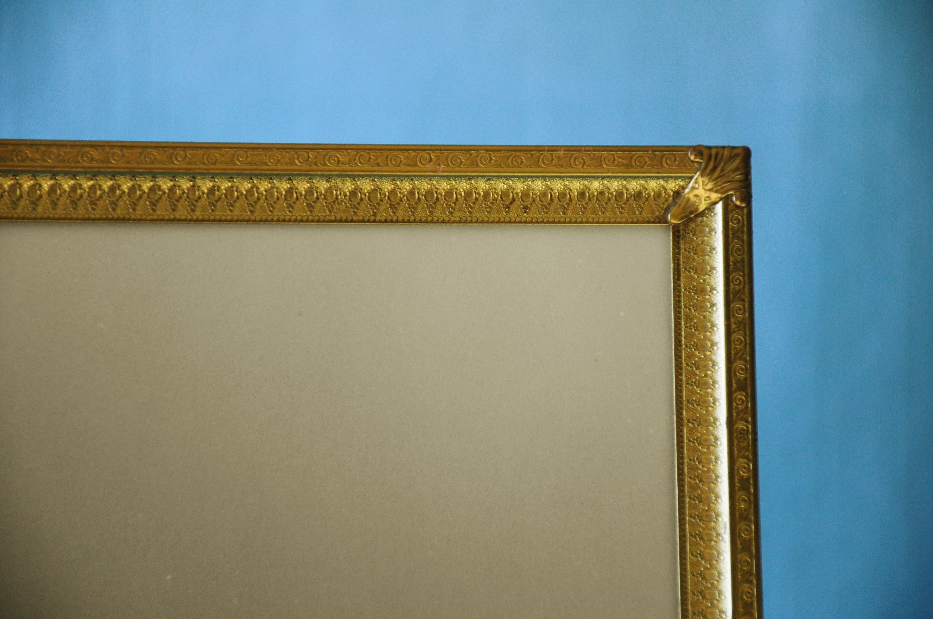 1940s Gilded 11x14 Picture Frame Vintage Gold Plated 11x14 Etsy In 2020 11x14 Picture Frame Engagement Frames Vintage Picture Frames