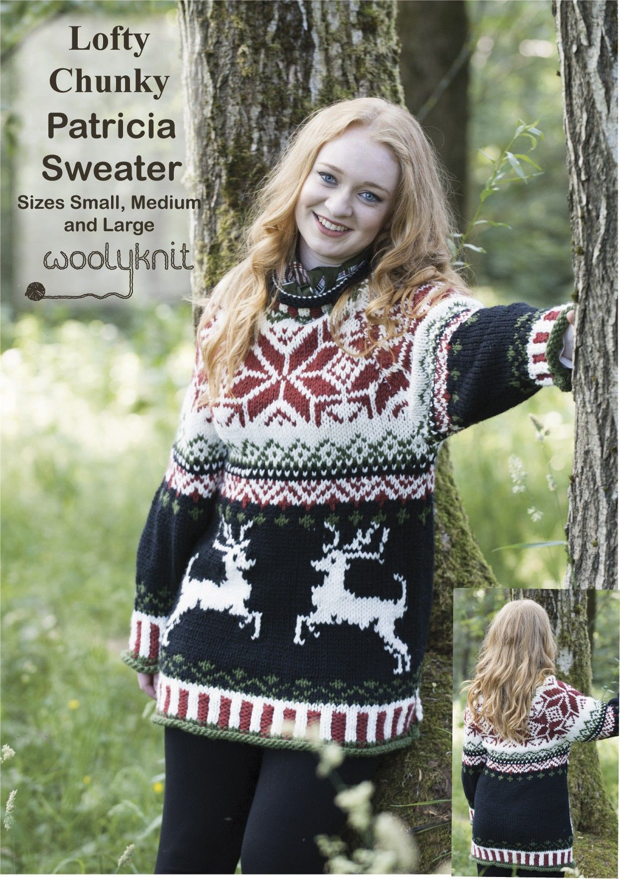 SPECIAL OFFER get the Patricia Christmas pattern for £1