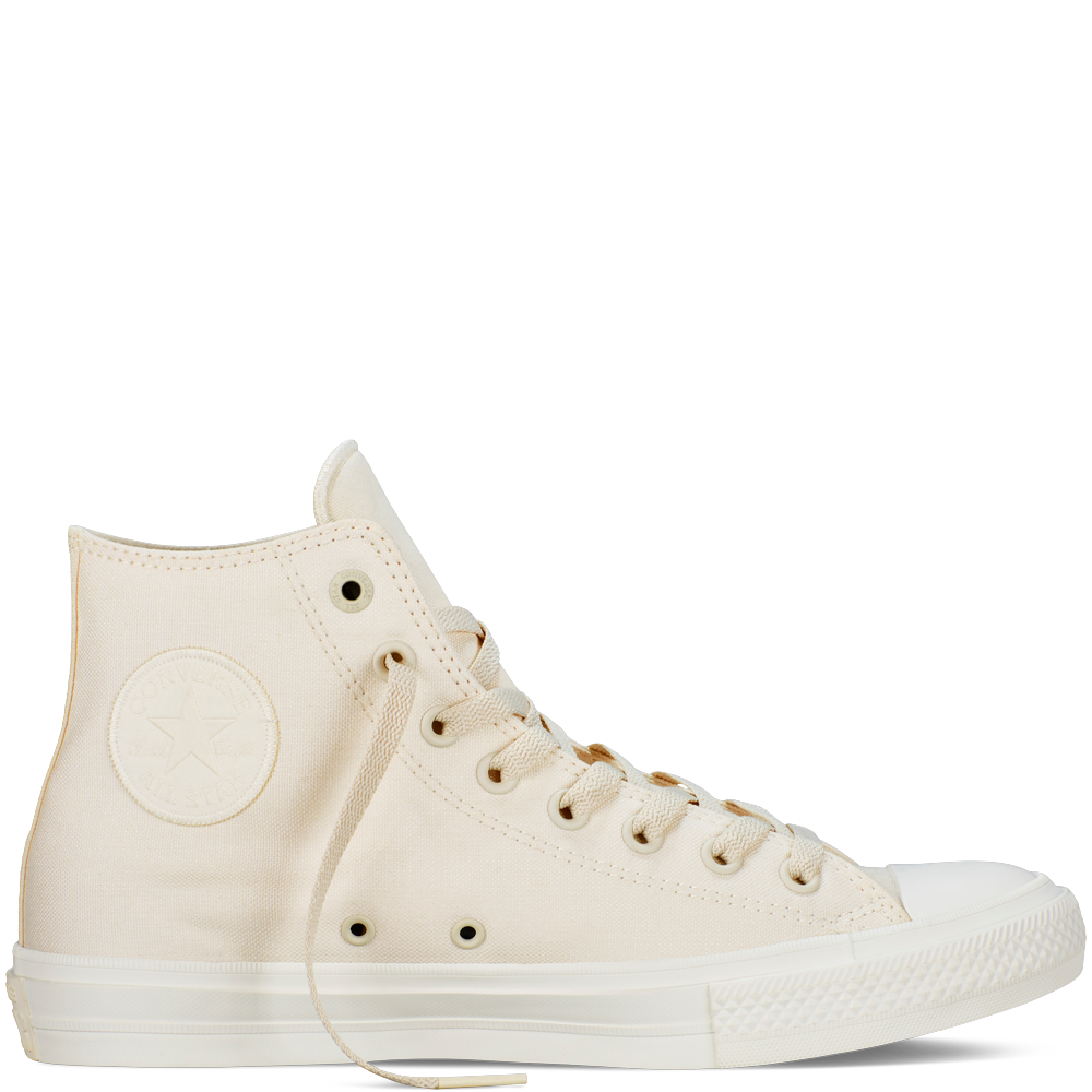 Hard Wearing Converse Chuck Taylor All Star Hi Rubber Trainers Womens Sports footwear Womens Trainers COLOUR-white