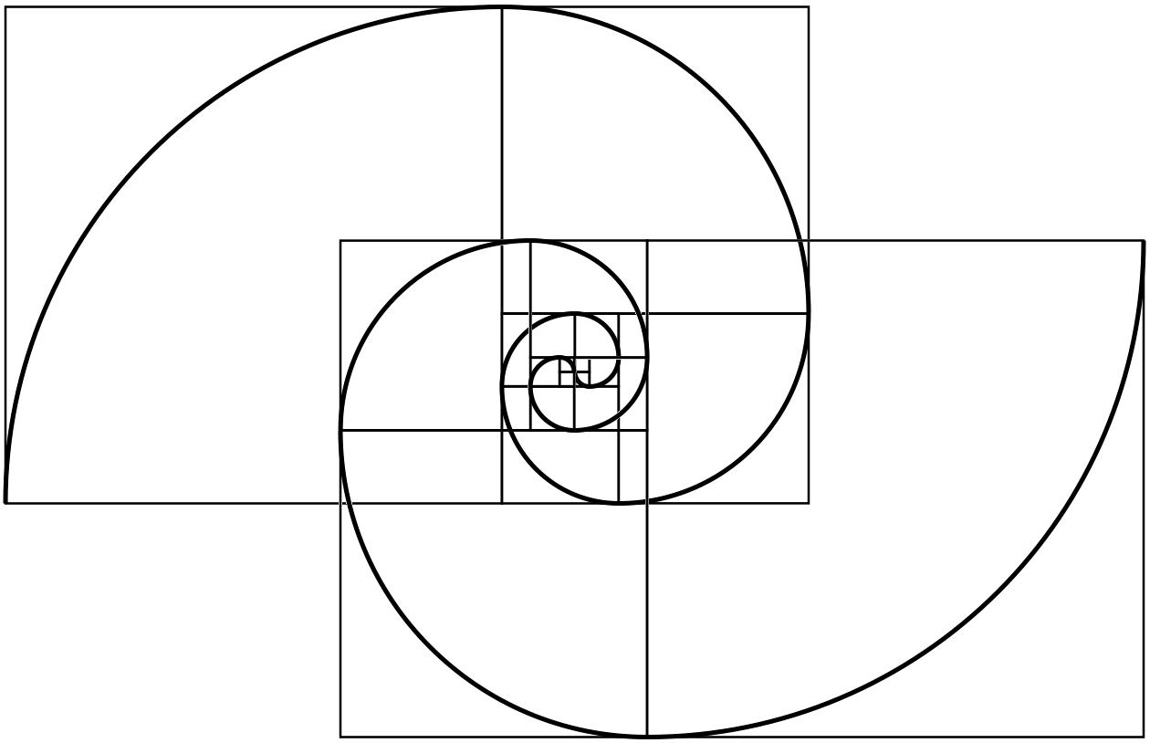 Combined a fibonacci with a fermat spiral | Pinterest | Geometrie ...