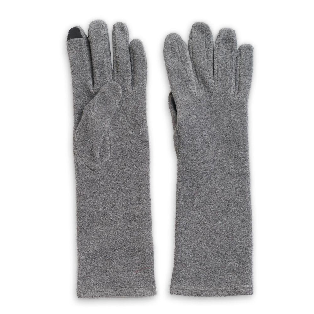2f99299a5 Women's Cuddl Duds Long Fleece Tech Gloves, Light Grey | Products ...