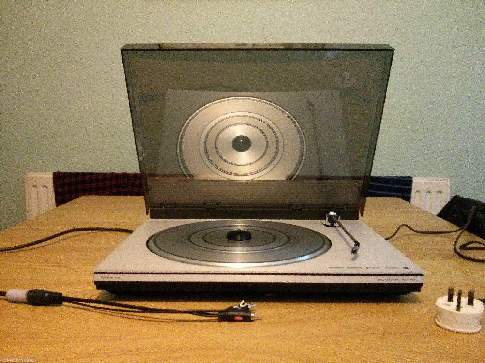 Bang & Olufsen Beogram 2000 Turntable Record Player Vinyl Deck