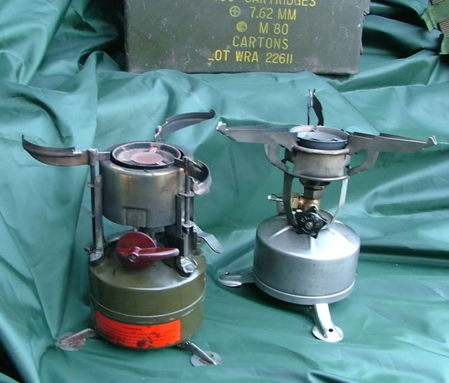 M1950 & M1942 stove | camping, backpacking, stoves, hiking