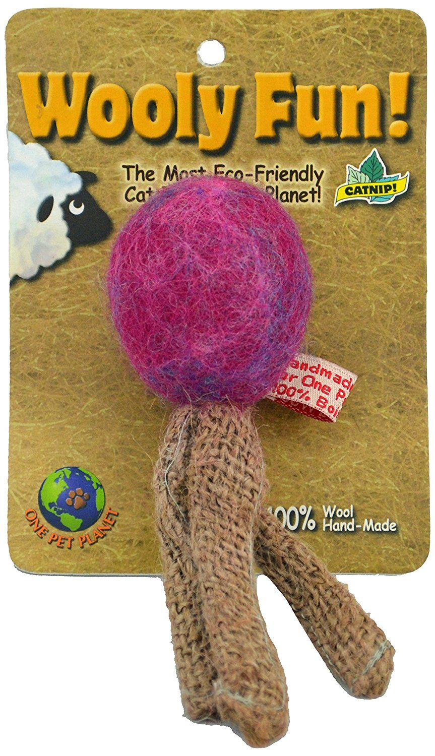One Pet Wooly Fun Triple Taile Ball * See this