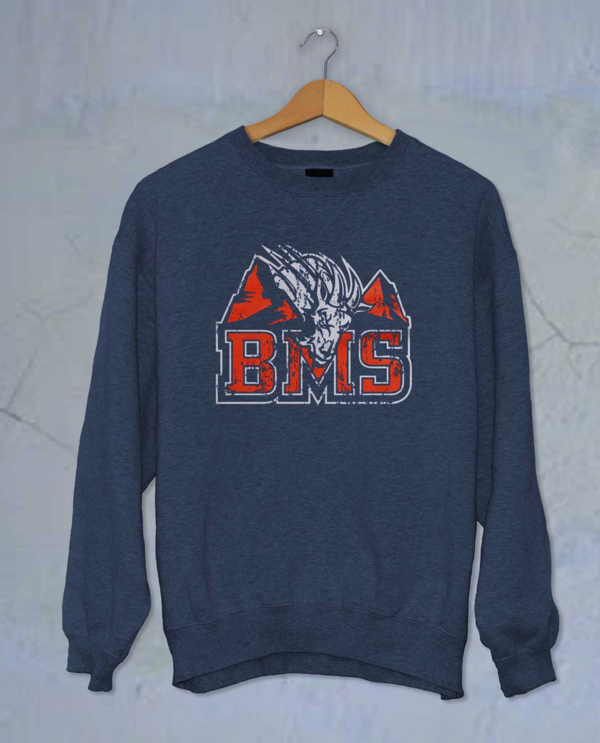 BMS Sweatr Blue Mountain State Sweater Unisex Adults size ...