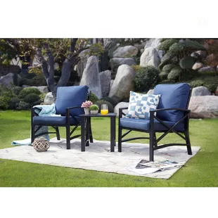 Small Conversation Sets You Ll Love In 2019 Wayfair Outdoor Patio Chairs Patio Seating Sets Conversation Set Patio