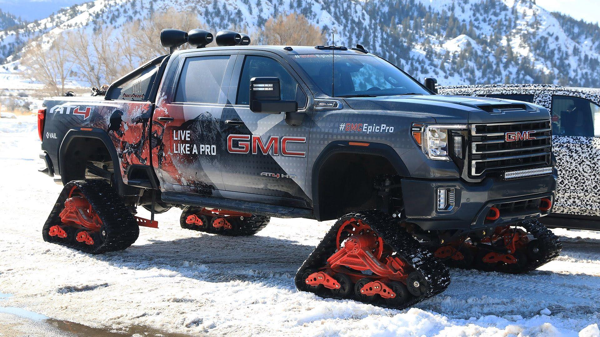 2020 Gmc Sierra Denali Hd All Mountain Review It S A Truck On Tank Tracks People The Drive In 2020 Gmc Sierra Denali Sierra Denali Denali Hd