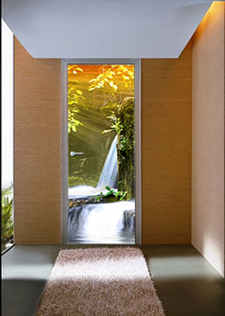 Murales para puertas modelo eden decoracion beltran tu tienda en internet de murales con - Fotomural para puertas ...