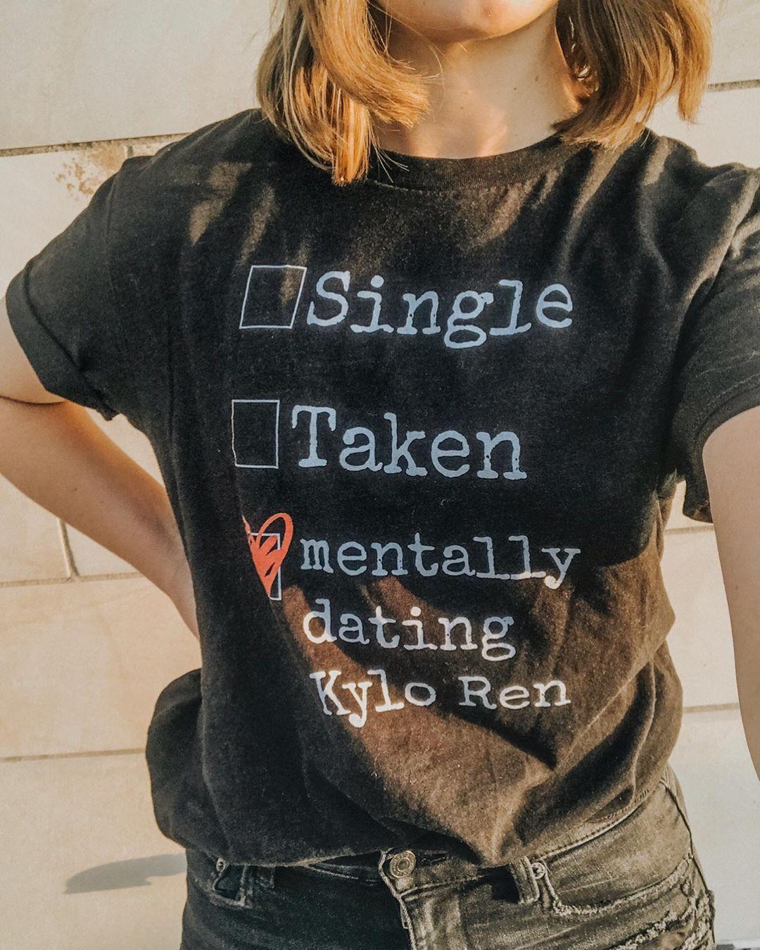 Custom Single Taken Mentally Dating Shirt