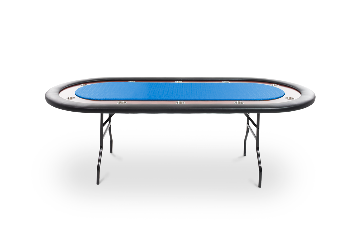 Ultimate Folding Poker Table For 10 By Bbo Poker Table Folding Poker Table Blue Bags