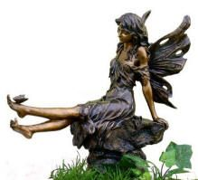 Butterfly Garden Decor Fairy And Butterfly Garden Statue