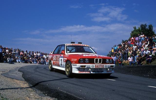 F chatriot bmw m3 tour de corse 90 rally car group for Garage mercedes corse